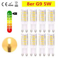 8er G9 5W LED Glühbirne Sparlampe Leuchtmittel Stecklampe Lampe Sockel Warmweiß