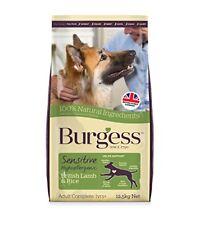 Burgess Sensitive Hypoallergenic Dog Food Adult British Lamb and Rice 12.5kg