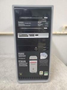 Compaq Presario SR1907CL 3072MB AMD Sempron 3400+ 2GHz Desktop Computer No HDD