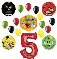 Angry Birds 2 Party Supplies 5th Birthday Balloon Bouquet Decorations