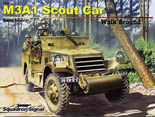 M3A1 White Scout Car Walk Around (Squadron Signal 5720)
