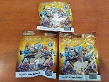 2011 Halo Mega Bloks Series 3 … Lot of 3 packs