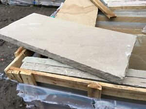 THICK natural Stone hearth with hand dressed edges VARIOUS SIZES, FREE DELIVERY