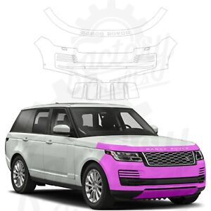 Paint Protection Film Clear PPF for Land Rover Range Rover 12-20 Front Bumper