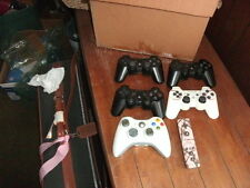 6 different wireless controllers playstation dualshock sixaxis + microsoft x-box