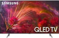 "Samsung QN75Q8FN 2018 75"" Smart Q LED 4K Ultra HD TV with HDR QLED"