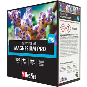 Red Sea Test Kit Magnesium Pro MG Accurate Precise Reef Test Free USA Shipping