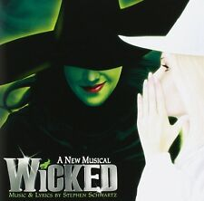 WICKED THE MUSICAL ORIGINAL BROADWAY CAST SOUNDTRACK OST CD STEPHEN SCHWARTZ NEW
