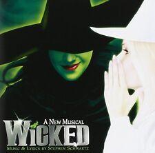 WICKED THE MUSICAL ORIGINAL BROADWAY CAST SOUNDTRACK OST CD STEPHEN SCHWARTZ NEW