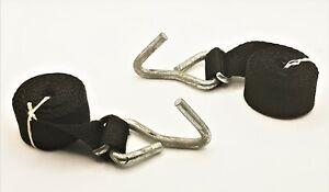 Halfords Rear 3 Bike Rack Carrier Bottom Hooks with Straps Spare Parts
