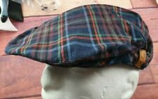 deadstock FRED PERRY x STOCKPORT Checked Flat Cap One Size NEW WITH TAGS