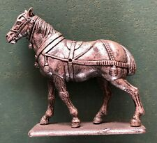 Soldier Lead Old Mshp 1985 Made IN France Horse Alone