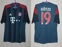 Bayern Munich 2013 2014 Third Gotze Götze Adidas Shirt Jersey Trikot Size M