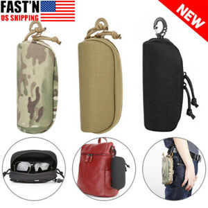 Tactical Eyeglasses Case Sunglasses Pouch Glasses Shockproof Protective Hard Box