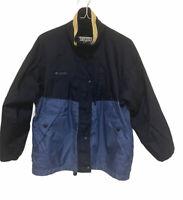 Womens Columbia Sportswear Jacket Full Zip & Buttons Pockets Sz M Fleece Lining