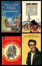BORED OF THE RINGS, LEONARD WIBBERLEY, THE FONZ, BEVERLY HILLBILLIES paperbacks