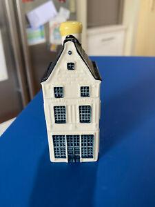 KLM Bols Miniature Blue Delft House #8 Holland 2009 Sealed