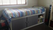 single bed - IKEA, with storage