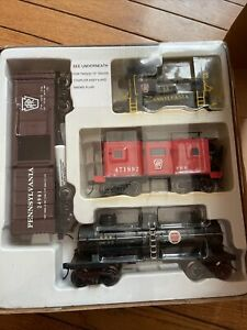 O Gauge 3-Rail K-Line K-1419 PRR Pennsylvania Plymouth Switcher Diesel Train Set