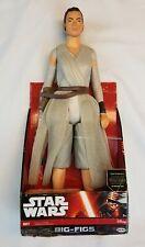 """Disney Star Wars Big-Figs 18"""" Figure Jedi Force  Rey Jakks New"""