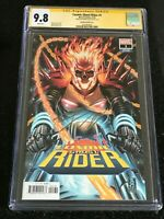 Signed COSMIC GHOST RIDER #1 CGC 9.8 by Donny Cates. Brooks Variant Cover Marvel