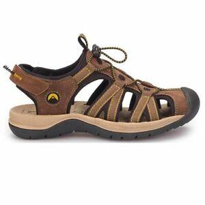 Elementerre Arpin marron/noir, sandale de marche homme