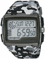 Timex Men's TW4B030009J Expedition Grid Shock Gray Camo Resin Strap Watch