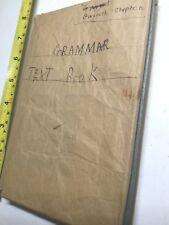 GRAMMAR AND ANALYSIS OF THE ENGLISH LANGUAGE Charles Brooke
