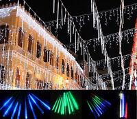 Thick Linkable 35/55cm LED Meteor Shower Shooting Star Tube Light Christmas Tree