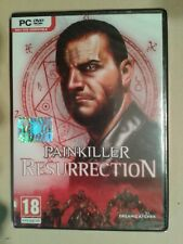 VIDEOGIOCHI pc dvd Painkiller Resurrection NUOVO SIGILLATO