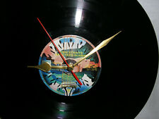 """VINYL RECORD WALL CLOCK  DIRE STRAITS """"BROTHERS IN ARMS"""" 12 inch LP album"""