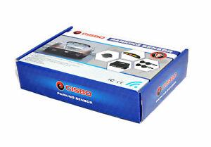 CISBO 18.2mm Detachable Rear Reverse Parking Sensor 4 Sensors Audio Buzzer Kit