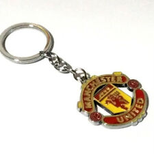 Manchester United double side badge football soccer Fashion alloy keychain