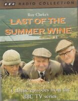 Last Of The Summer Wine 2 Cassette Audio TV BBC Comedy 4 Episodes Roy Clarke