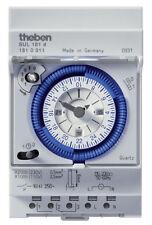 Theben Zeitschaltuhr SUL181d analog Schaltuhr Uhr 96 Schaltsegmente 1810011