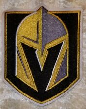 """Las Vegas Golden Knights NHL Logo 4"""" Iron On Embroidered Patch ~USA Seller~"""