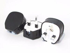 Silver plated plug MK Toughplug 655 audio grade mains power HI-FI Upgrade X 3