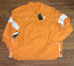 Men's Tennessee Volunteers Nike Coaches Sideline Quarter-Zip Jacket NWT 3XL