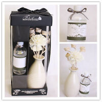Luxury Home Fragrance Cotton Reed Stick Flower  Oil Diffuser Gift Set joblots