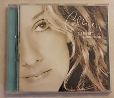 All the Way: A Decade of Song by Céline Dion (CD, Nov-1999, Epic)