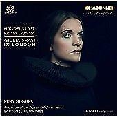 Handel's Last Prima Donna: Giulia Frasi in London (2018) Sealed ( crack in case)