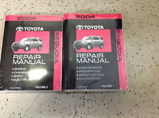 2004 Toyota SEQUOIA Service Shop Repair Manual Set OEM BRAND NEW NIB FACTORY