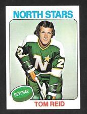 1975-76  TOPPS HOCKEY ,  # 277 , TOM REID , MINNESOTA NORTH STARS