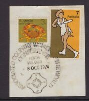 Western Australia Country Women's conference pictorial cancel 1974 on piece