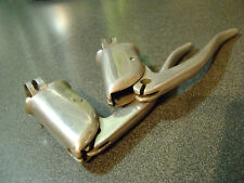 used pair Vintage alloy BSA racing bicycle brake levers - 1930's B.S.A.