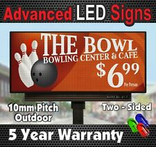 Programmable EMC Digital Display Sign Full Color Double Sided P10 25