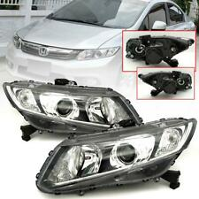 Genuine Honda Civic FB Sedan 2012 Black Clear Front Projector HeadLight