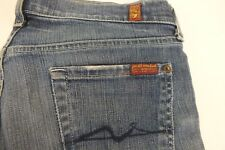 SEVEN 7 For All Mankind 26  BOOTCUT BOOT CUT Leg Jeans Medium Wash