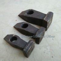 Set of 3 Black Heavy Iron Hammer Blacksmith Tool