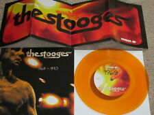 "THE STOOGES - 1969-1970 - LTD EDITION NUMBERED YELLOW VINYL - 7"" SINGLE"